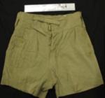 Uniform shorts; Wright Edgware; c.1939-1945; 2009_93_9