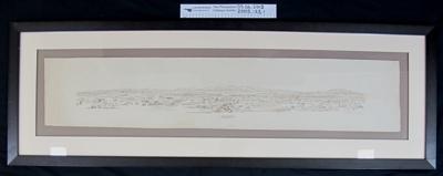 Landscape drawings WW1; A.H. Watson; 1914-18; 2005_123_1-2