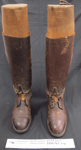 Military boots Boer War II; c.1898-1902; 2000_769_1-4