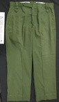 Cotton uniform trousers; Tracey Manufacturing; c.1979-1996; 2005_227_8