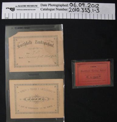 Certificates; c.1899-1902; 2010_355_1-3