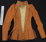 Burnt orange jacket c.1890-1900; Unknown; c.1890-1900's; 1983_181