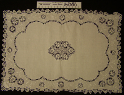 Tablecloths; Unknown; Unknown; 2006_153_1-2