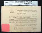 Certificate of appointment 1936; Ministry of Defence; 1936; 2000_767_10
