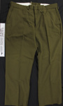 Wool uniform trousers; NZ Defence force; c.1979-1996; 2005_227_2-3