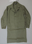 N.Z. Post Office khaki overcoat; Unknown; mid 20th Century; 2005_19_1