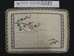 Tray cloths; Dorothy and Maud Cox-Smith; between 1920-1970's; 2007_8_11-12
