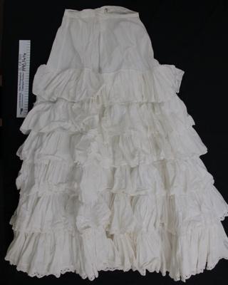 Petticoat; Unknown; c.1860-1900; 1990_1414