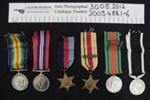 WW1-WW2 medals; 1918-1945; 2003_488_1-6