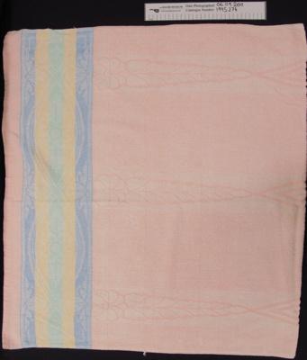 Bath towel; Unknown; c.1930-40; 1995_274