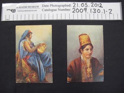 WW1 Postcards; Union Postale Universalle Egypte. Carte Postale; c.1915; 2009_130_1-2