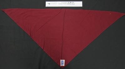 Scouts uniform scarves; Boy Scouts; c.1956; 2002_27_1-2