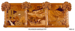 Wilkinson Marquetry; Mary and Mal Wilkinson,  Auckland; 1980's; 1990.42
