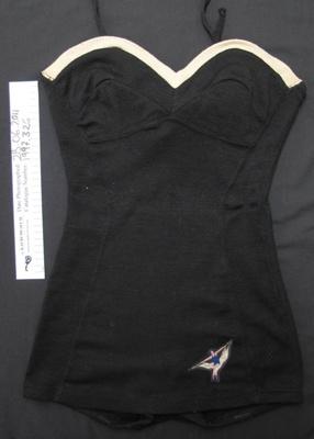 Woollen bathing suit; Roslyn; c.1940-50; 1997_326