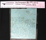 Letter; c.1939-1945; 2006_263