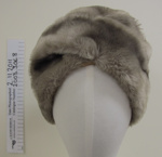 Faux fur ladies hat mid 20th Century; Pigalle; mid 20th Century; 2003_306_8