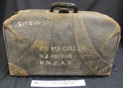 Suitcase WW2; c.1939; 2004_259