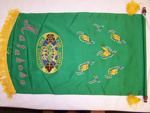 Matakohe C.W.I. 50th Jubilee banner; Matakohe Country Women's Institute; Unknown; 2005_411_9_1