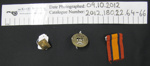 Military badges/buttons; c.1899-1945; 2012_180_22_64-66