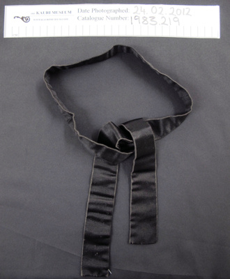 Neck tie; Unknown; Unknown; 1983_219