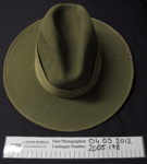 Uniform slouch hat ; 2005_178