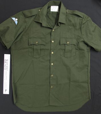 Uniform shirt RNZCT Air Dispatch; Magrath Mfg. Co.; c.1979-1996; 2005_227_5