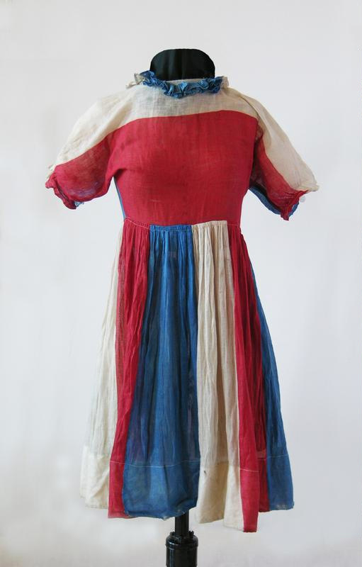 Child's peace day dress - North Otago Museum