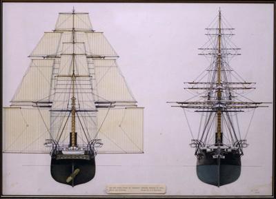 The HMS Orpheus., TC9487