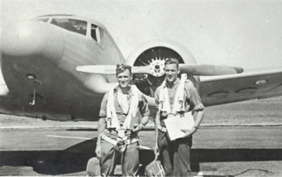 James Gordon (left) of Little Huia., HM19