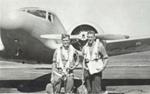 James Gordon (left) of Little Huia., HM19