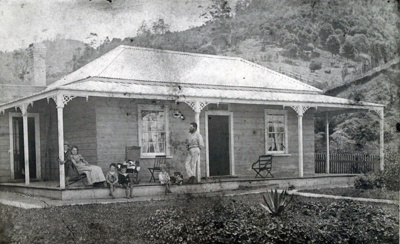 The first house of the Turner family., TC7812