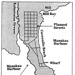 The plan for the Cornwallis settlement., HM01