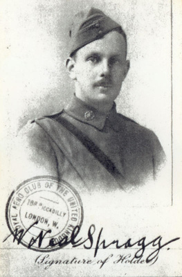 Wesley Neal Spragg, HM18