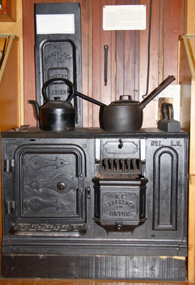 Shacklock stove., TC7598
