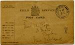 Postcard; 19 March 1917