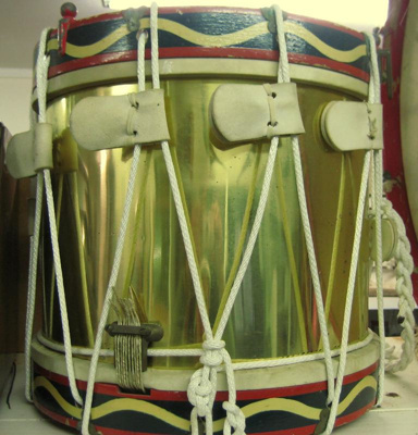 Marching Band snare drum. In 1947 the Raglan Caled...