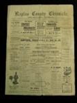 Raglan County Chronicle / The Settler's Journal  ; Frank West Green; Friday, June 23, 1905; 1983.13.10c
