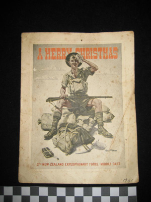 Christmas Card sent by Ivan.C. Grimwood, who serve...