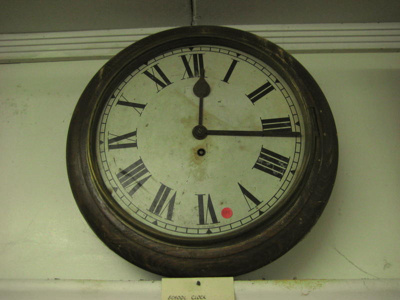 This clock was used in the Old School, which is no...