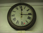 Old School Wall Clock, 1900's, 1970.34.1