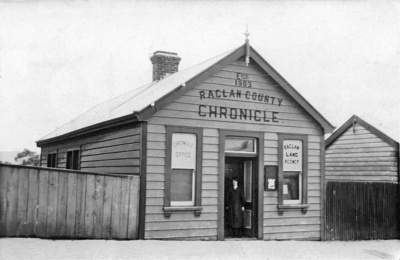 The Raglan Chronicle has been part of Raglan, on a...