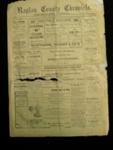 Raglan County Chronicle Newspaper; 1983.13.10d