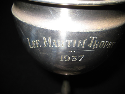 LEE MARTIN TROPHY 1937/ RAGLAN DISTRICT BOYS & GIR...