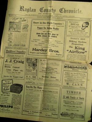 Raglan County Chronicle; 1972.23.4