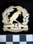 Badge of the 4th Waikato Mounted Rifles; 1968.38.12