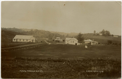 Te Mata Township in 1910. Correspondence between M...