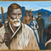 Painting of Chief Te Awaitaia, Bauke, D.H, 1976.17.1