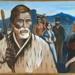 Painting of Chief Te Awaitaia, Bauke, D.H, 1976.17.1