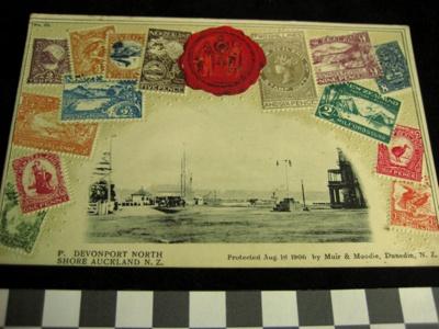 Postcard; 1906