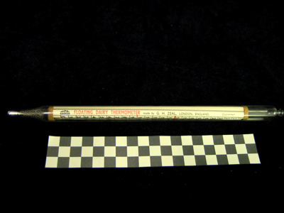 This thermometer belonged to William James Smith, ...